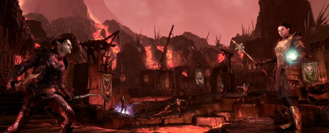 TESO Morrowind Champs de bataille