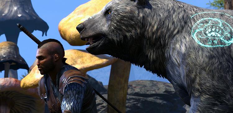 TESO Morrowind - Le Gardien