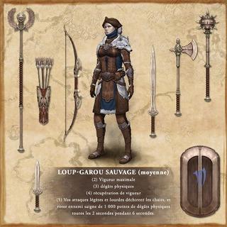 Set Loup-garou sauvage