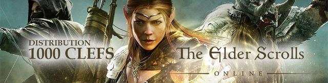 Distribution : 1000 clefs Elder Scrolls Online à gagner