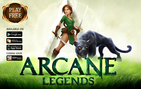 Arcane Legends - Arcane Legends maintenant disponible sur plateformes iOS