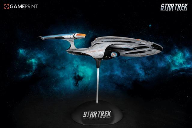 Impression 3D d'un vaisseau Star Trek