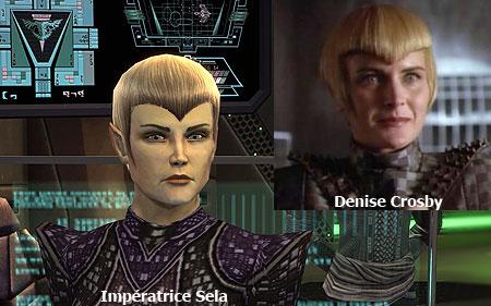 Denise Crosby - Impératrice Sela