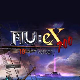 Logo de MU Online eX700