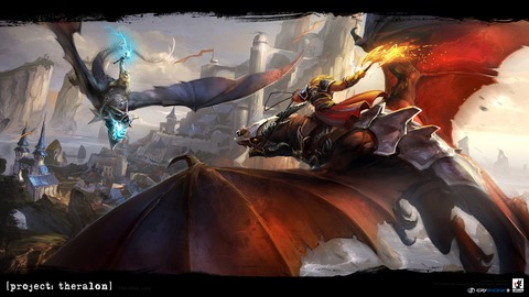 Theralon - GC 2012 - Le Projet Theralon s'annonce comme « vrai MMORPG sandbox »