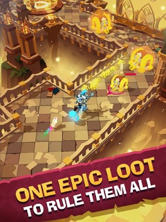 Mighty Quest for Epic Loot sur plateforme mobile