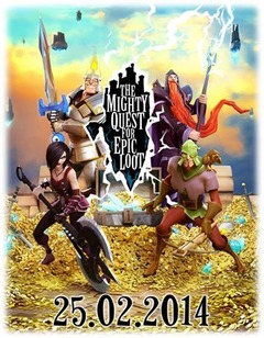 The Mighty Quest for Epic Loot débutera sa bêta ouverte le 25 février