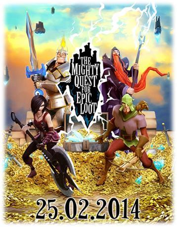 Mighty Quest for Epic Loot - The Mighty Quest for Epic Loot débutera sa bêta ouverte le 25 février
