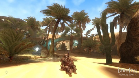 Darkfall Unholy Wars - Darkfall : Unholy Wars illustre la construction de son personnage