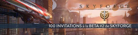 100 invitations à la bêta #2 de Skyforge