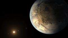 Représentation de Kepler-186f © Reuters - Nasa