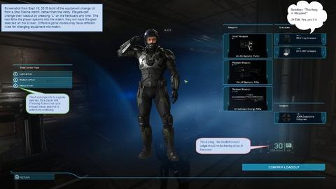 Image de développement du Lobby de Star Marine