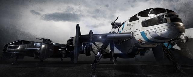 Drake Interplanetary - Cutlass Black & Blue
