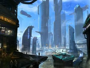 Terra, QG d'Anvil Aerospace