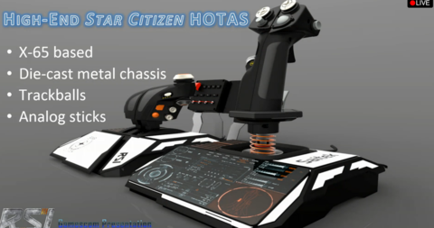 Star Citizen HOTAS