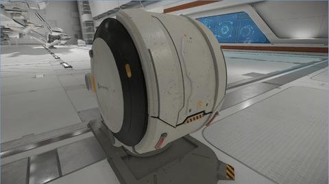 Le SimPod dans lequel vous pouvez lancer Arena Commander