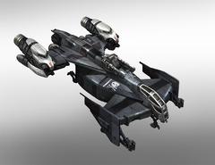 Drake Cutlass fighter