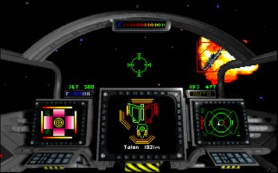 Privateer fut le premier jeu de Chris Roberts à proposer une gestion des boucliers.