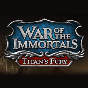 Logo de War of the Immortals: la Furie des Titans