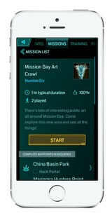 Ingress se trouve des missions