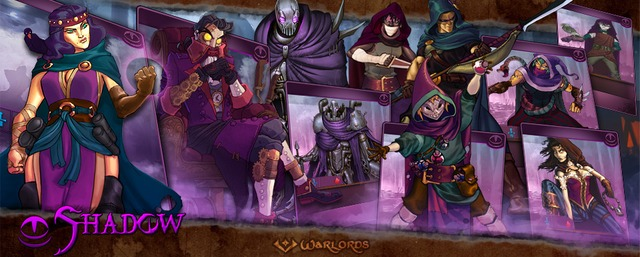 Bannière Warlords Shadow