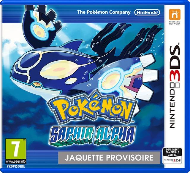 Jaquette Pokemon Saphir Alpha