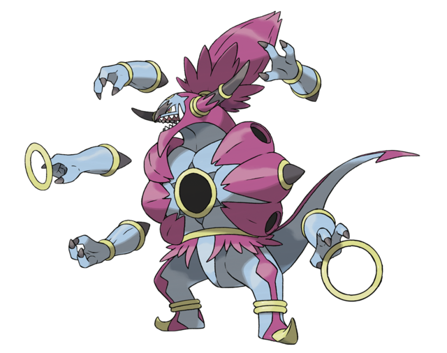 Hoopa déchainé Artwork