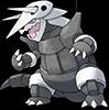Ce qui fait de lui un Pokémon plus lent que Galéking !
