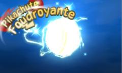 Pikachute Foudroyante