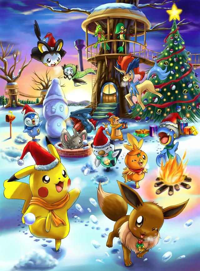 Joyeux Noel Streaming.Pokemon La Section Pokejol Vous Souhaite Un Joyeux Noel