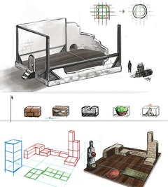 Artwork housing
