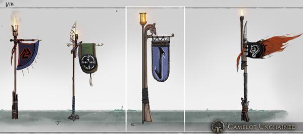 Artwork Bannières Viking