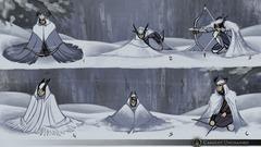 Camouflage des archers