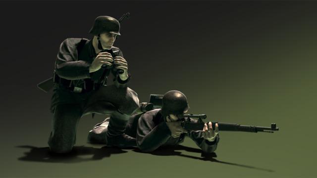 HandG Assault Team German recon