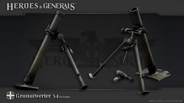 HandG Renders German Granatwerfer 34