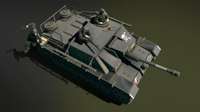 HandG Assault Team German tank destroyer