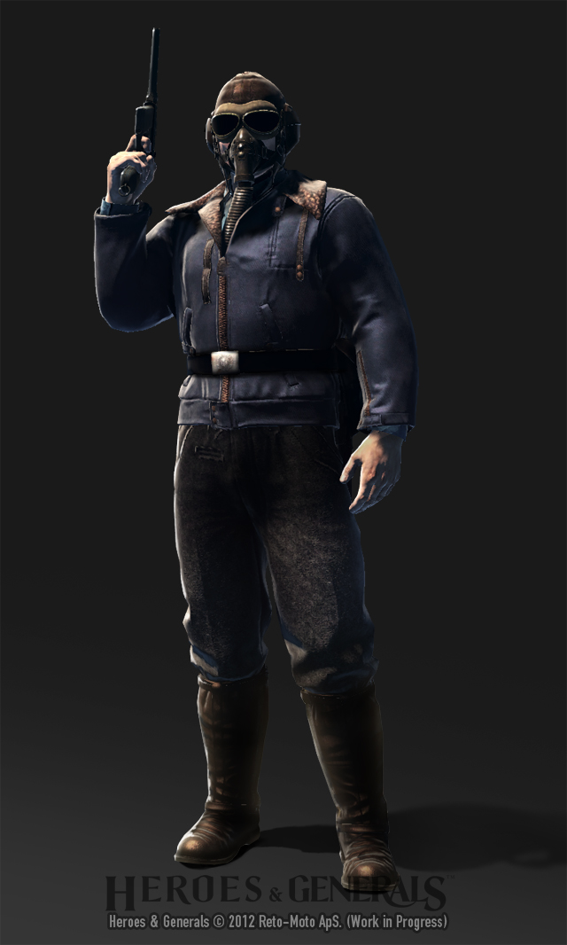 HandG Characters German Fighterpilot