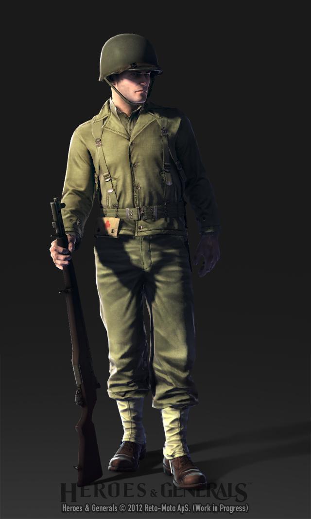 HandG Characters US Rifleman