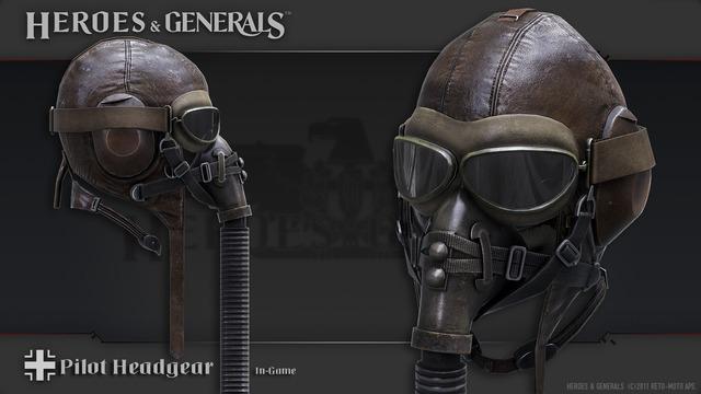 Concept - Masque de pilote allemand