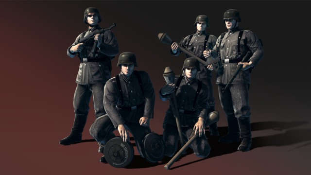HandG Assault Team German anti tank infantry