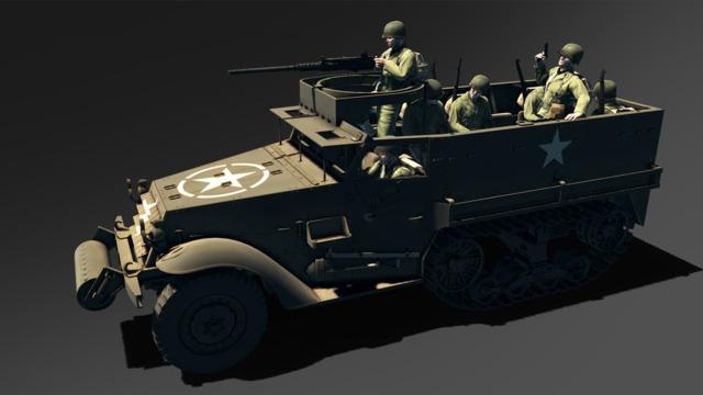 HandG Assault Team US mechanized infantry
