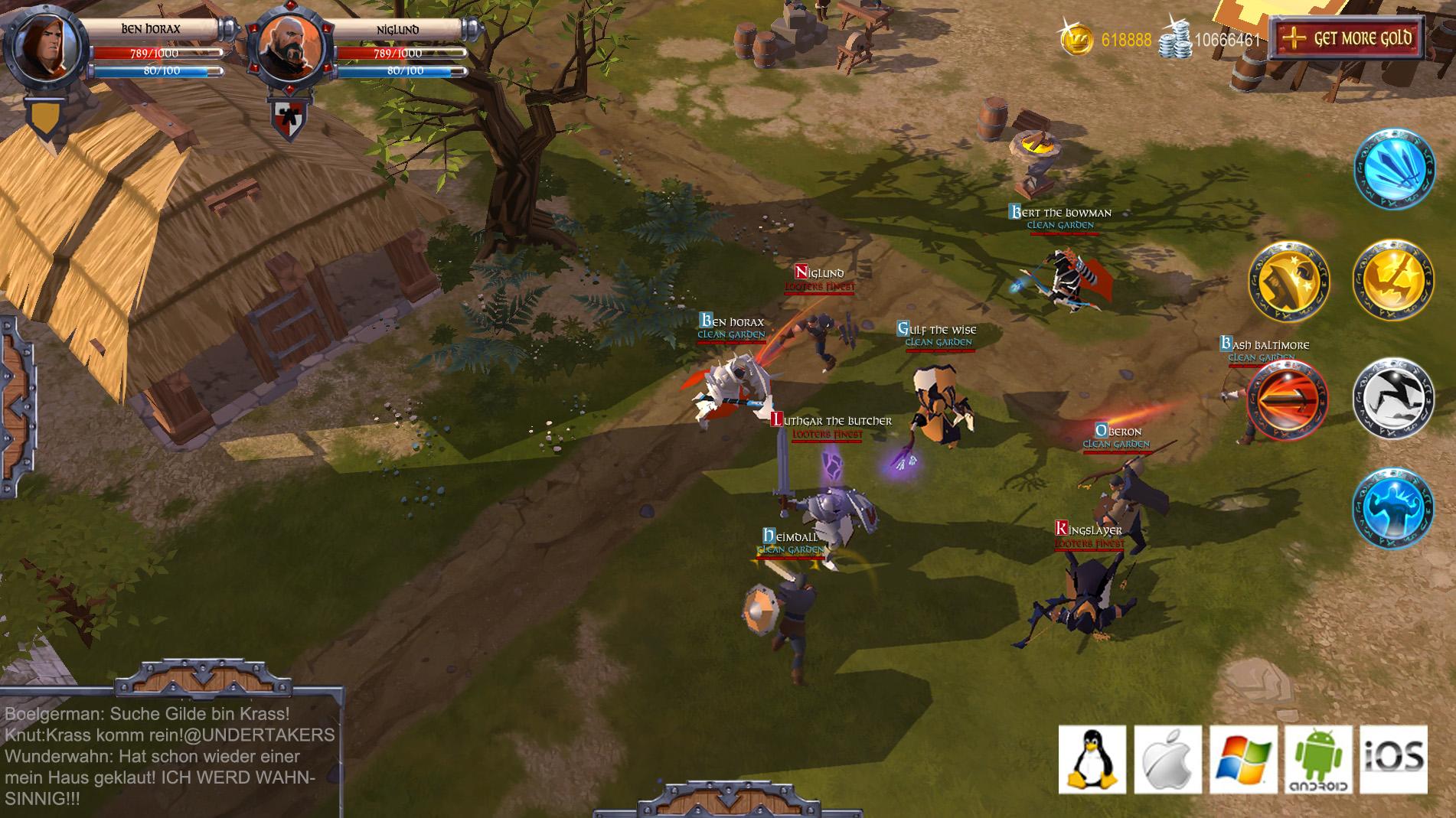 Albion Online Sandbox Interactive dévoile Albion Online