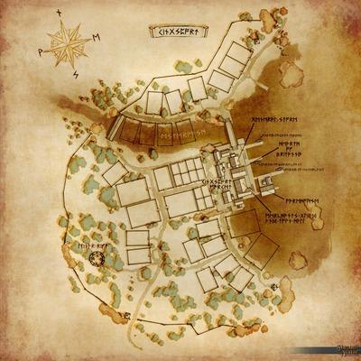 Carte de la ville de KingsPort