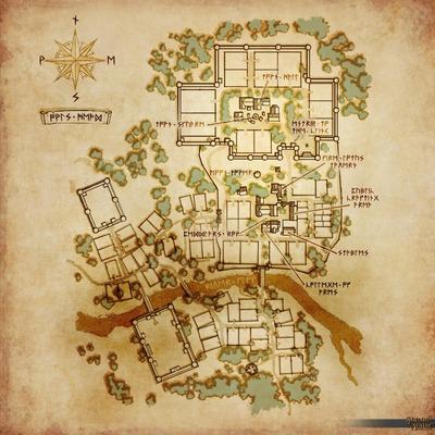 Carte de la ville de Owl's Head