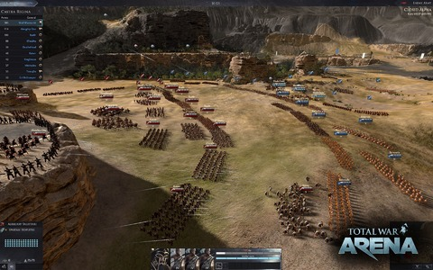 Total War Arena - Total War Arena ressort de l'ombre, distribué par la « Wargaming Alliance »