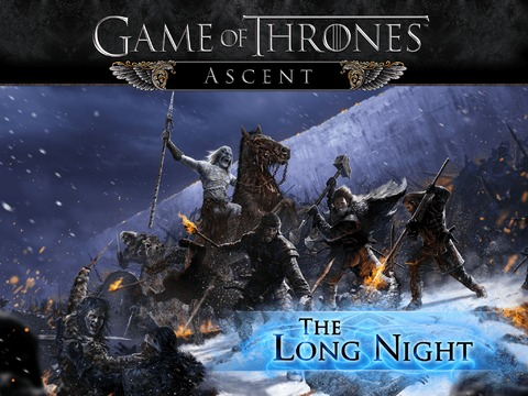 "Game of Thrones Ascent - Lancement de l'extension ""The Long Night"" pour Game of Thrones: Ascent"