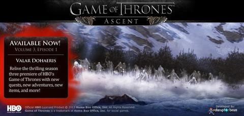Game of Thrones Ascent - Saison 3