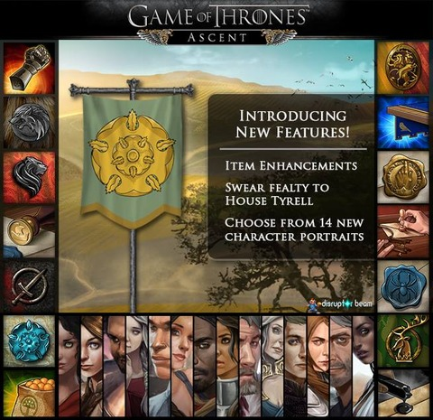 Game of Thrones Ascent - Game of Thrones Ascent inaugure ses luttes « Alliances vs. Alliances »