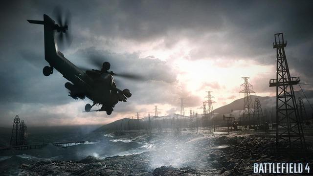 Capture d'écran de Battlefield 4 - Hélicoptère