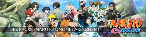 Jeux-concours : packs Naruto Online à gagner